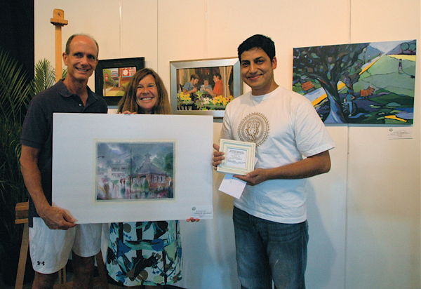 "1st Place Winner 3rd Annual Falls Church Plein Air Festival ""Scenes in the City"""